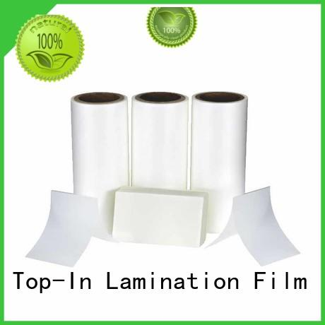 coated Anti-scratch film best seller for paper box