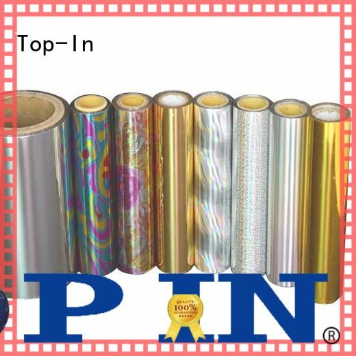 Top-In glitter laser film from China for medicine boxes