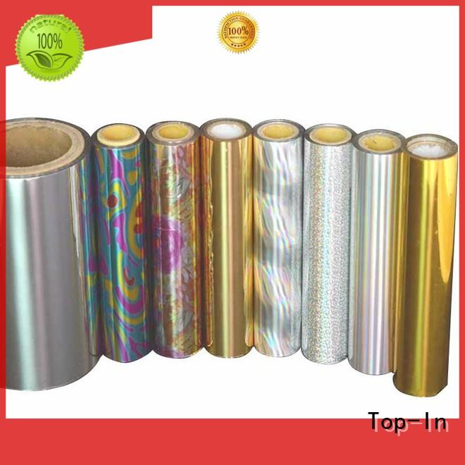 cost-efficient holographic lamination film fireworks packaging Top-In company
