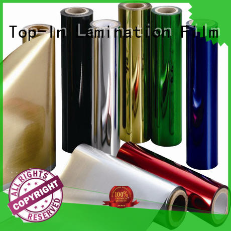 Top-In sun-proof metallic film supplier for alcohol packaging