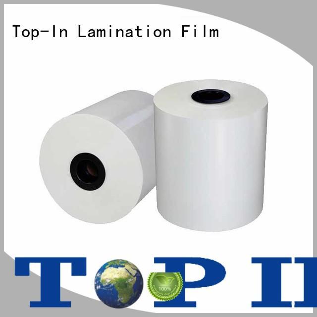 food packaging cost-efficient matt bopp film Top-In manufacture