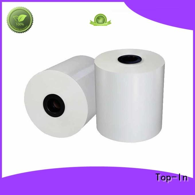 Top-In white bopp supplier for posters