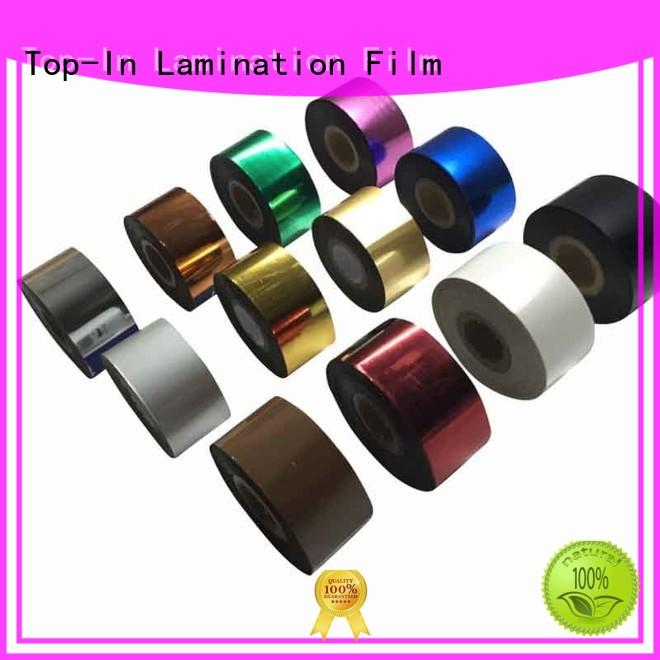 Quality Top-In Brand laser foil printing easy operation various colors