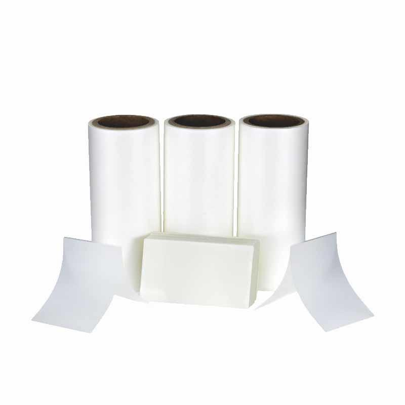Top-In coated thermal lamination film customized for paper box
