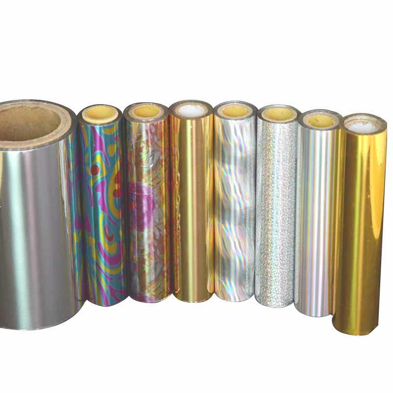 20mic holographic film manufacturer for medicine boxes