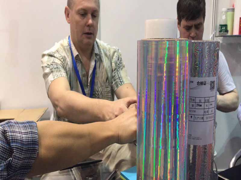 Bopp holographic film with Eva glue-7