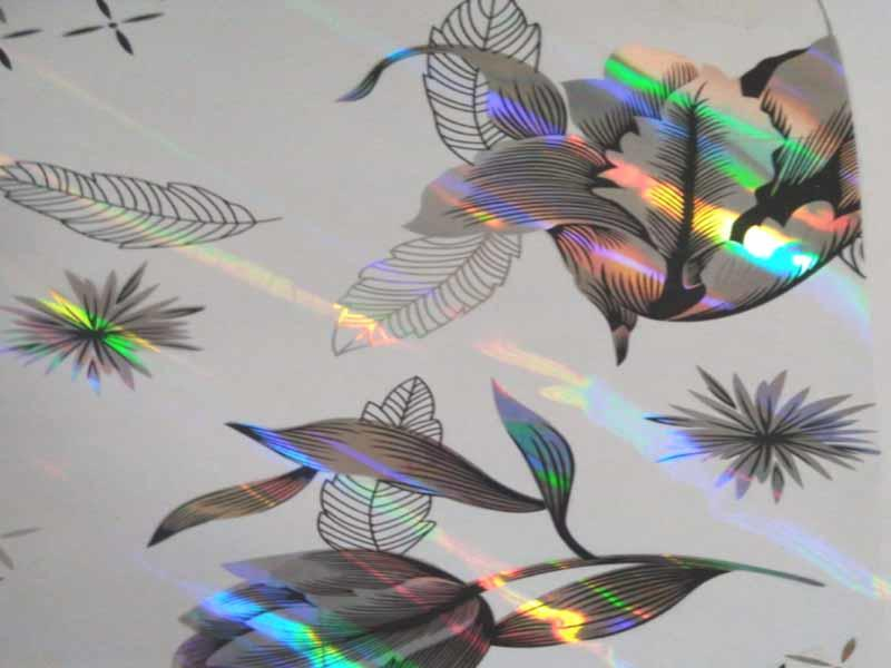 Bopp holographic film with Eva glue