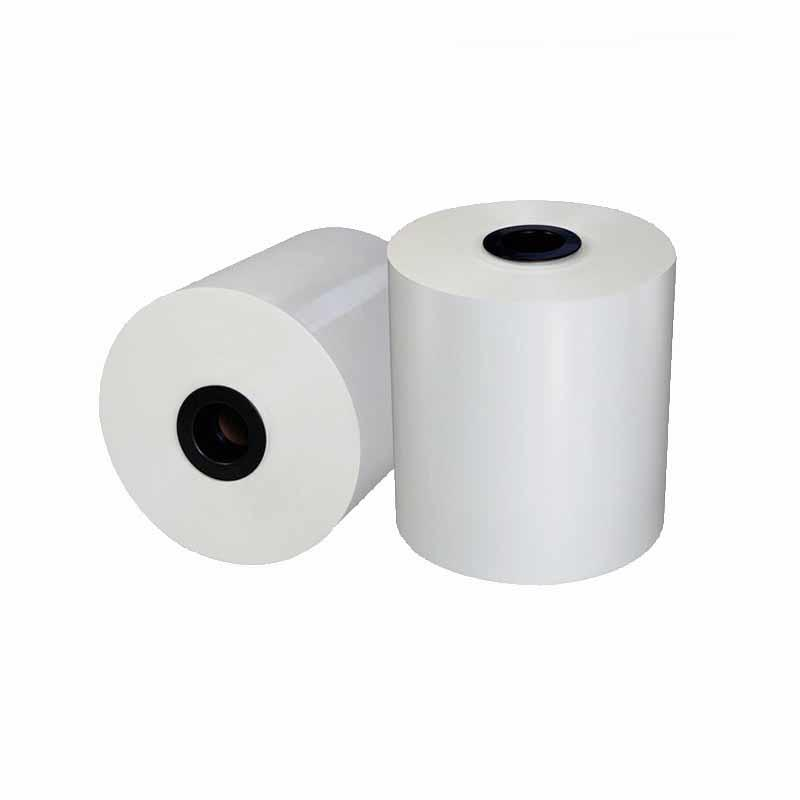 Bopp White film 18mic-30mic gloss and matt