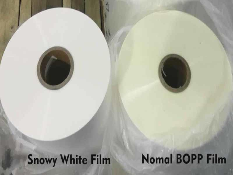 Top-In 18mic white bopp best seller for magazines
