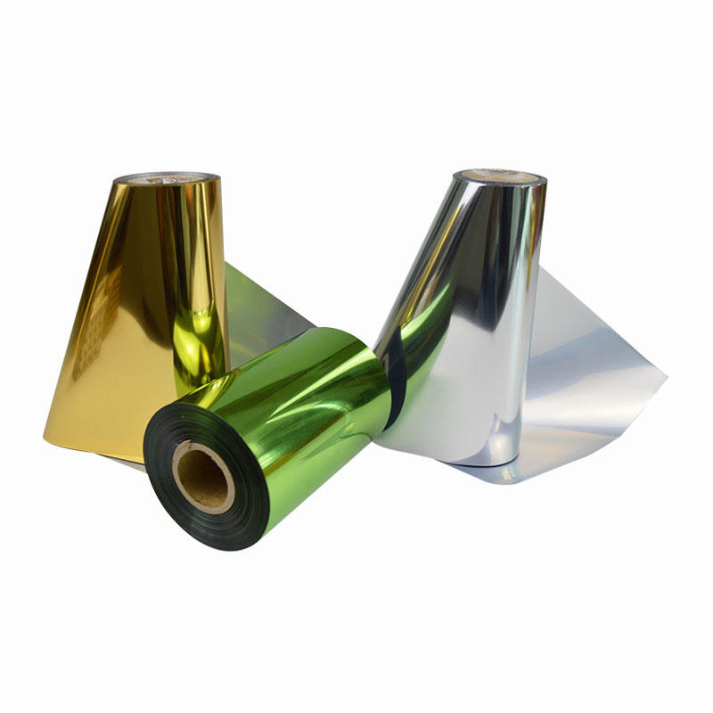 Top-In gold metallic film factory for alcohol packaging