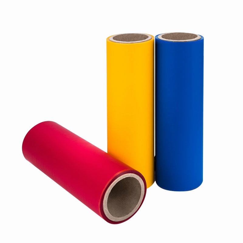 different color soft touch film supplier for advertising prints