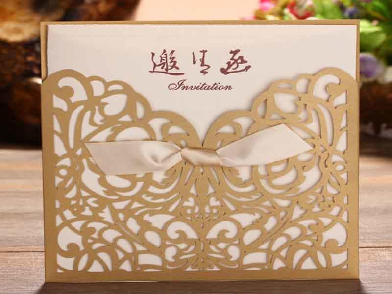 digital prints hot stamping foil factory for wedding cards