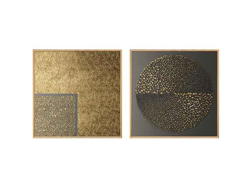 efficient gold foil printing factory for wall pictures