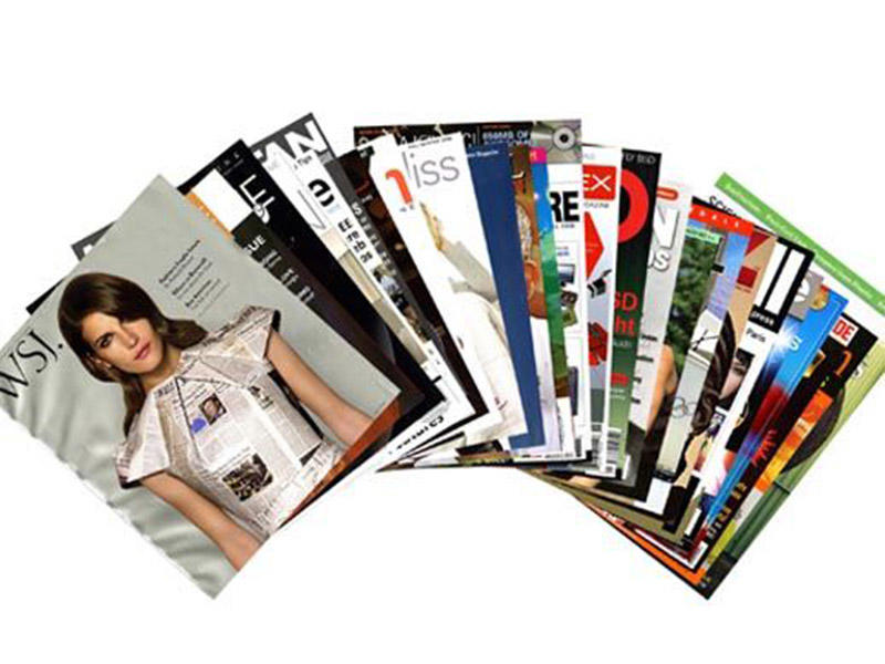 Super bonding film used for magazine covers