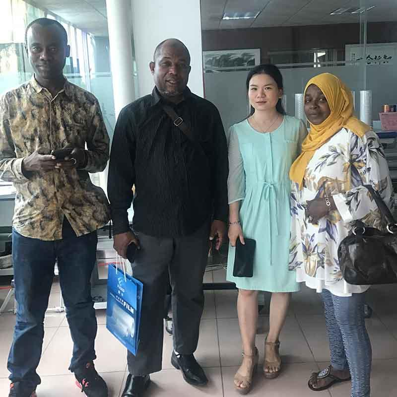 Customer from Tanzania visit our factory