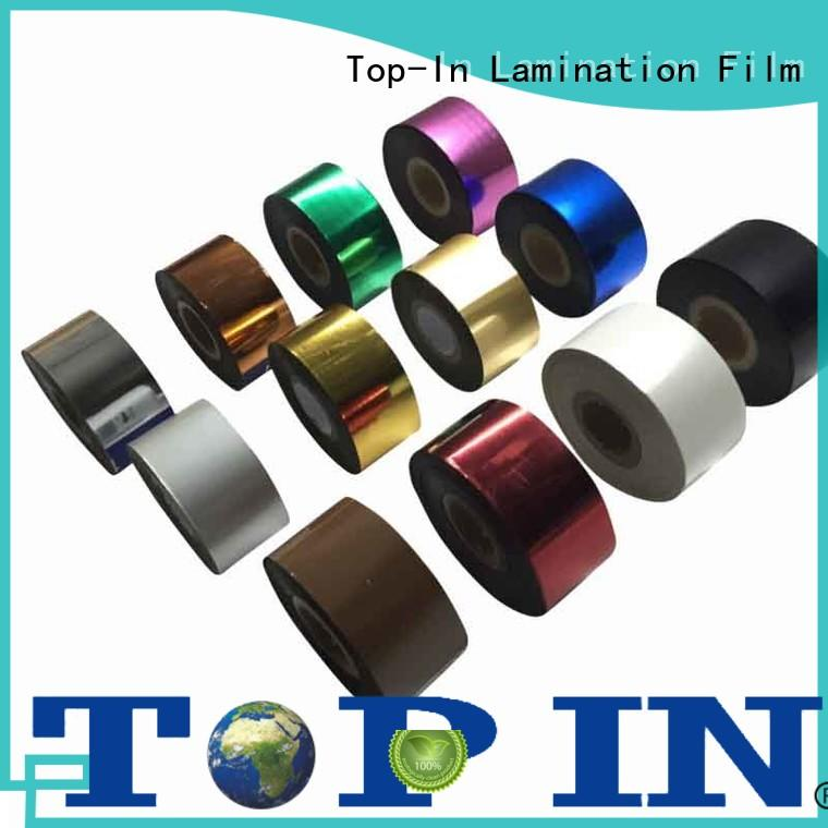 hot stamping Toner foil factory for certificates