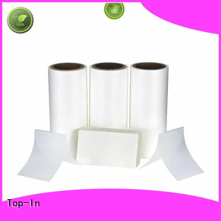 Top-In glossy Anti-scratch film from China for brochures