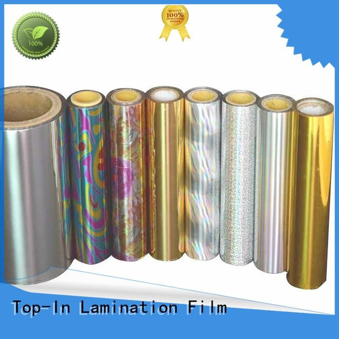Top-In eva glue laser film factory for gift-wrapping paper