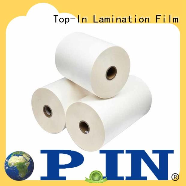 Top-In laminating bopp film manufacturer for posters