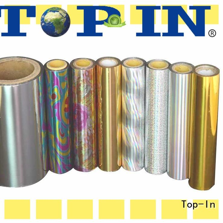 Top-In colorful holographic film directly sale for cigarette packets