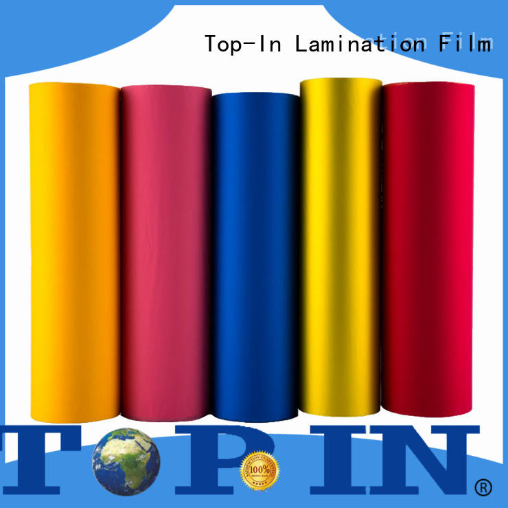 Top-In stable velvet lamination personalized for paper box