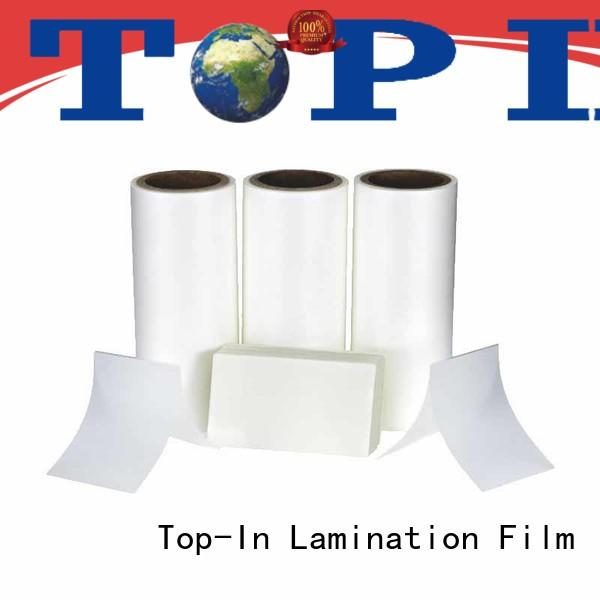 Top-In antiscrtch Anti-scratch film series for packaging