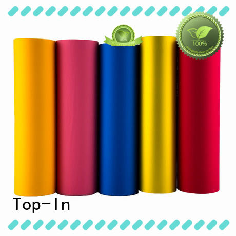 Top-In different color soft touch film supplier for bags
