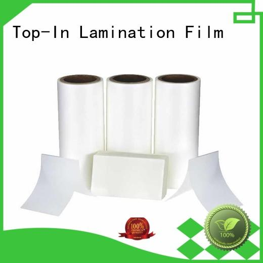 Top-In coated bopp film manufacturers for packaging