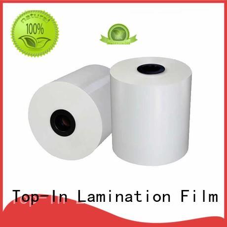 gloss bopp matte film white for magazines Top-In