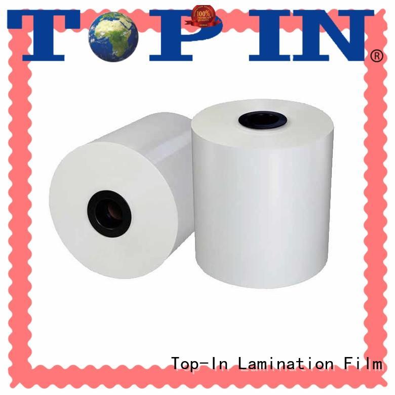 Bopp White film 18mic-30mic gloss and matt