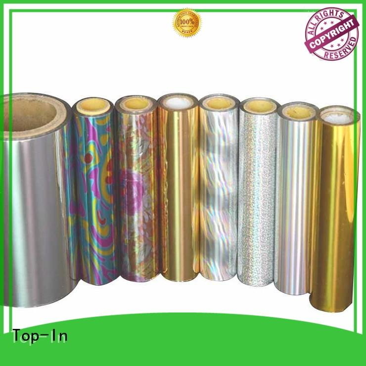 Top-In colorful laser film manufacturer for gift-wrapping paper
