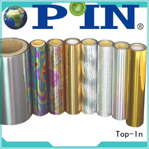 Top-In holographic film factory for medicine boxes