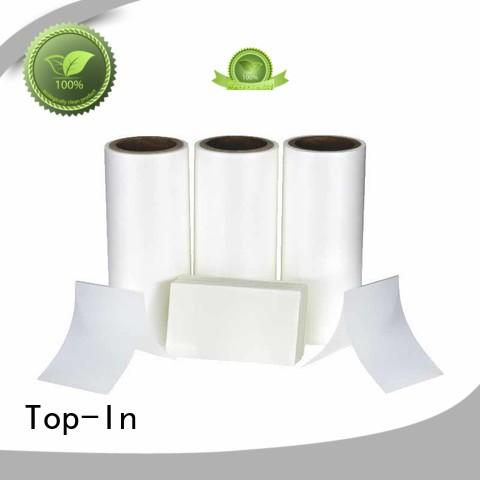 Top-In 30mic bopp film manufacturers promotion for paper box