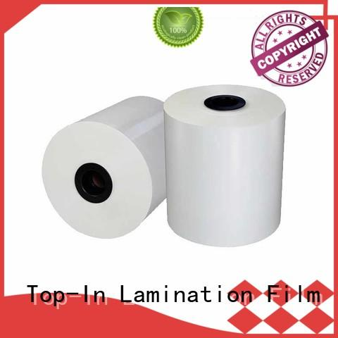 Top-In 30mic white bopp best seller for posters