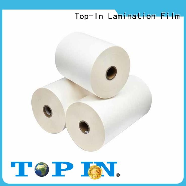 Top-In Brand excellent adhesion excellent bonding bopp thermal lamination film high flexibility