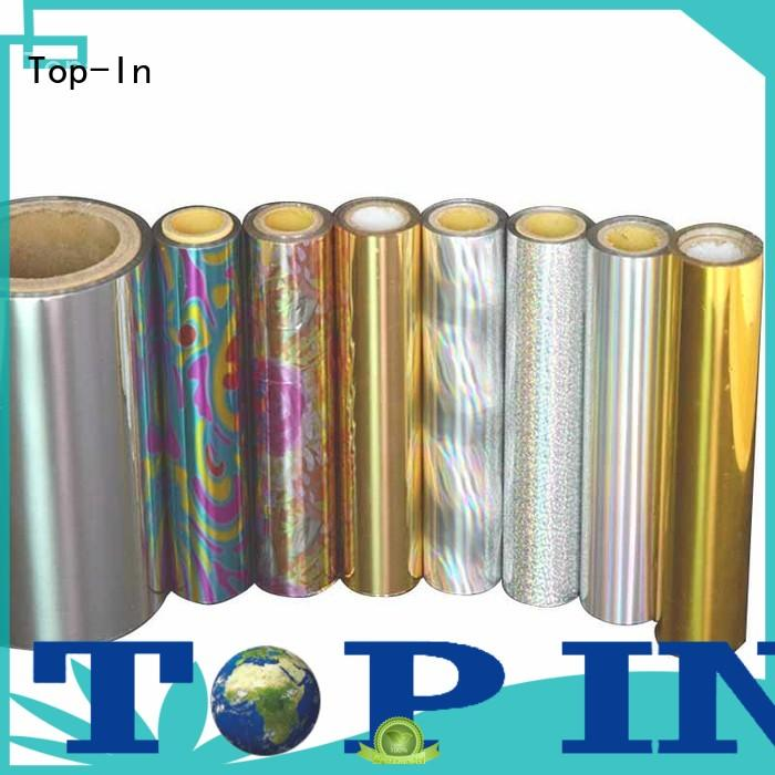 Top-In holographic foil manufacturer for cigarette packets