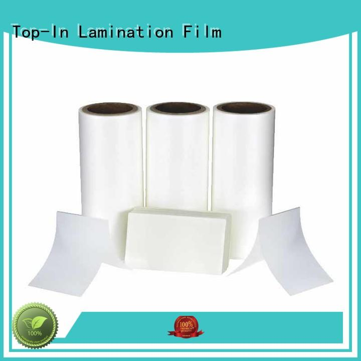 Top-In Anti-scratch film best seller for brochures