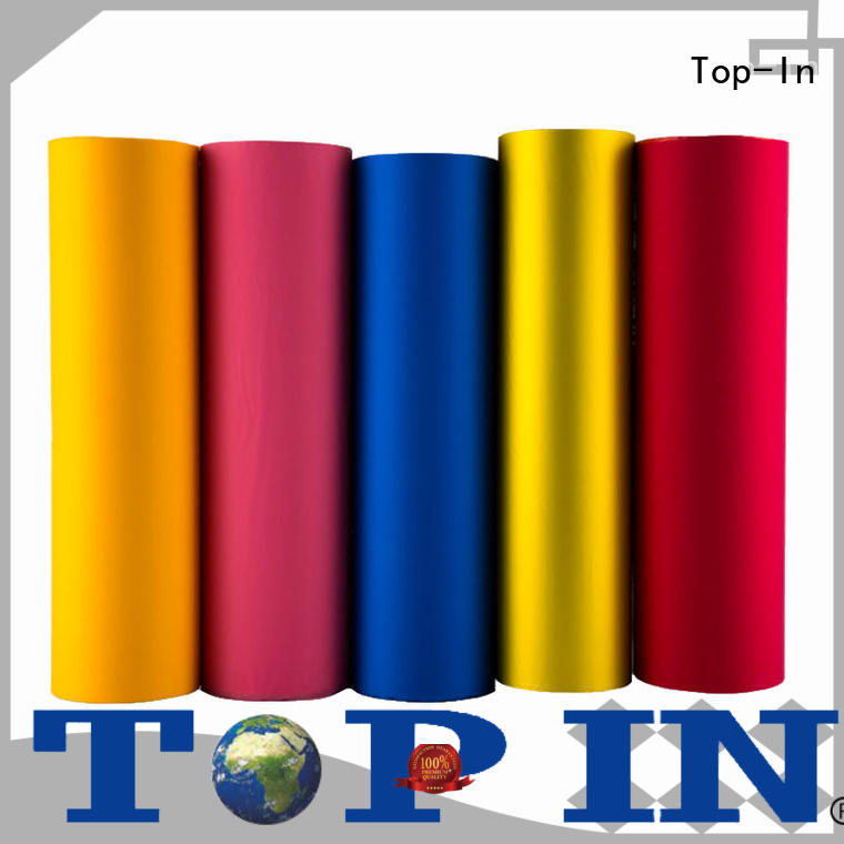 pink soft touch film factory for luxury packaging