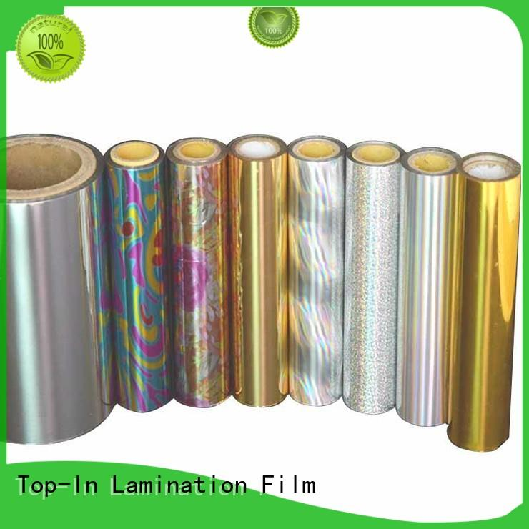 Top-In glitter laser film film for gift-wrapping paper
