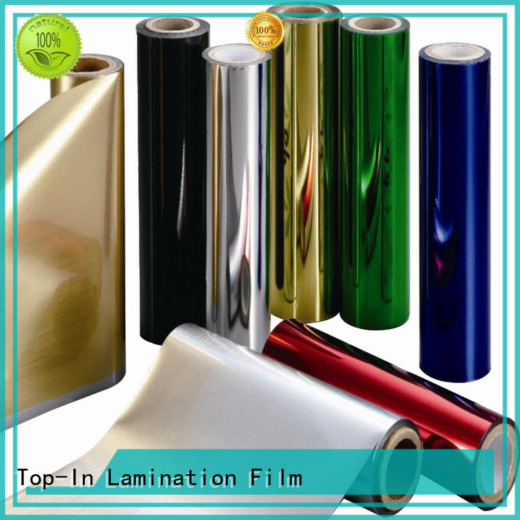 gold metallic film customized for alcohol packaging