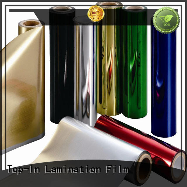 Top-In pet foil personalized for alcohol packaging