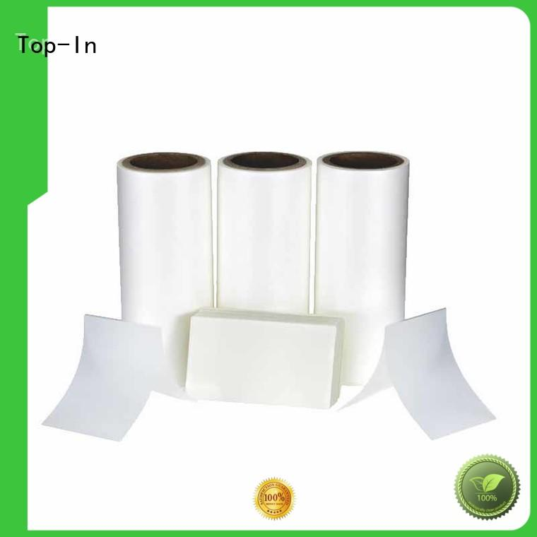 Top-In protective layer thermal lamination film directly sale for brochures