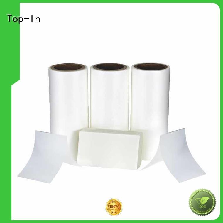 Top-In antiscrtch bopp eva series for paper box