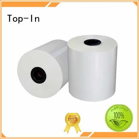 food packaging magazines paper box matt bopp film Top-In manufacture