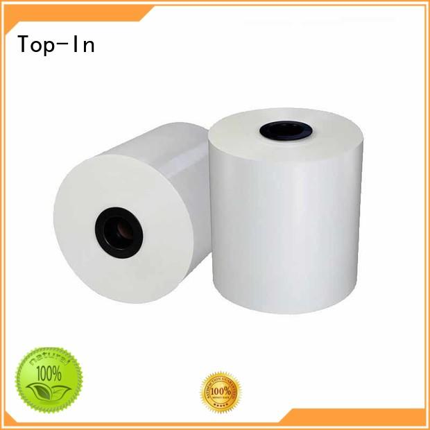 30mic white bopp from China for posters