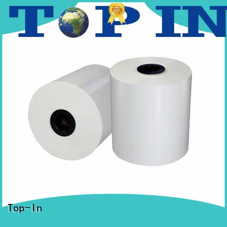 Top-In white bopp supplier for book covers