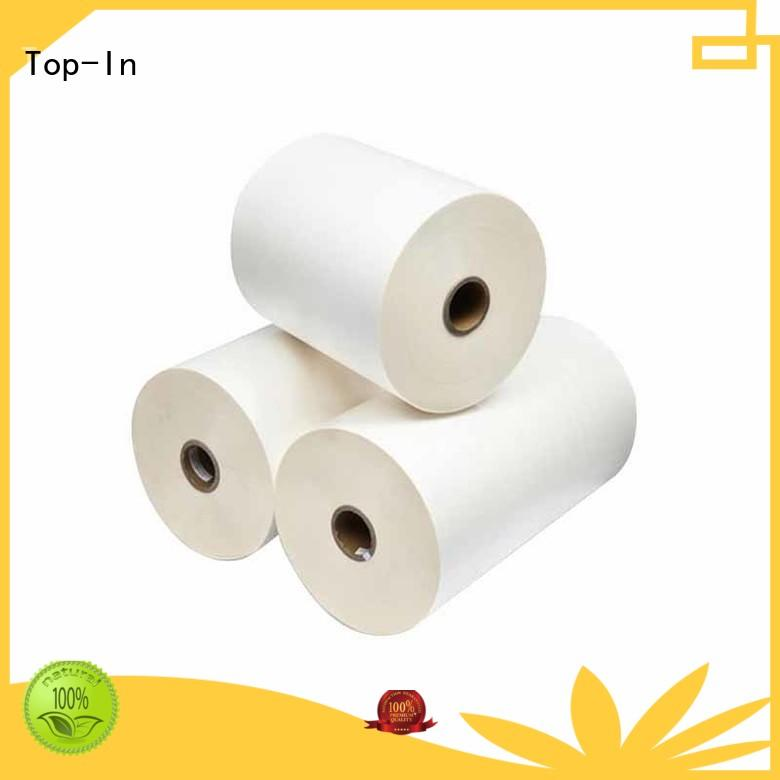 glossy finish easy loading excellent bonding Top-In Brand bopp thermal lamination film manufacture