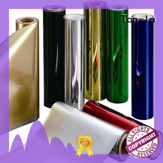 silver pet film suppliers wholesale for alcohol packaging Top-In