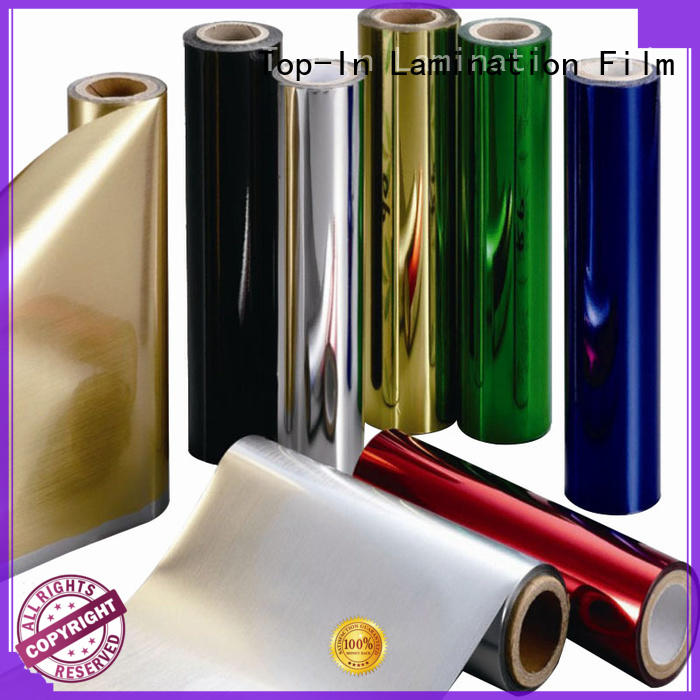 Top-In 20mic pet film supplier for decoration
