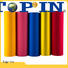 Top-In velvet film personalized for advertising prints
